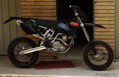 KTM SXF 450 04-11 Supersprox Motocross Rear Aluminium Sprocket Orange 51 Teeth