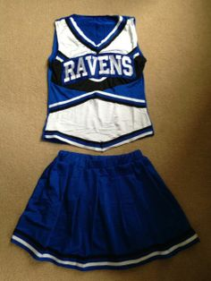 One Tree Hill Ravens Cheerleader Outfit - Halloween