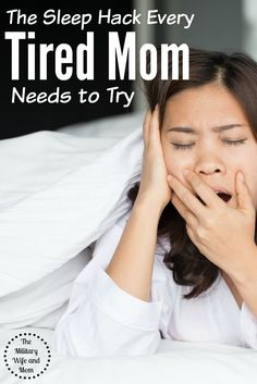 Have you tried the 4-7-8 technique? Seriously, ever tired mom needs to try this.