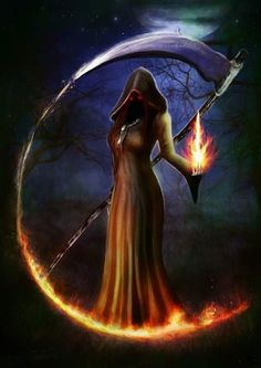 Fantasy art tattoo death 15 ideas for 2019 Fantasy Kunst, Dark Fantasy Art, Fantasy Girl, Fantasy Artwork, Dark Art, Female Grim Reaper, Grim Reaper Art, Grim Reaper Tattoo, Weeping Angels