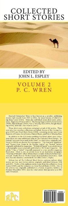 Collected Short Stories: of Percival Christopher Wren (Volume 2)