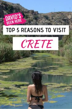 Here are 5 reasons to go on Holiday to Crete. Crete is the biggest island in Greece and it is filled withfabulous things to do and see. #Greece #crete #travelinspiration #wanderlust