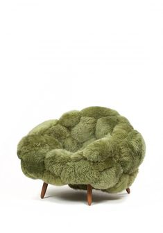 Bolotas Armchair (pistachio), an armchair by Campana Brother.- Bolotas Armchair (pistachio), an armchair by Campana Brothers - Home Design, Home Interior Design, Interior And Exterior, Interior Decorating, Kitchen Interior, Modern Interior, Table Sofa, Furniture Decor, Furniture Design