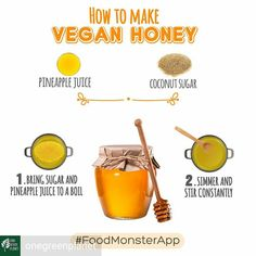 "30 Likes, 2 Comments - ⭐THE BADASS VEGAN TIMES⭐ (@badassvegantimes) on Instagram: ""@Regrann from @onegreenplanet - #repost @foodmonsterapp It's #NationalHoneyMonth but we think you…"""