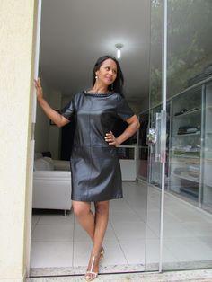 Paulo Ribeiro Atelier: Não tenha planos, tenha um vestido de couro.
