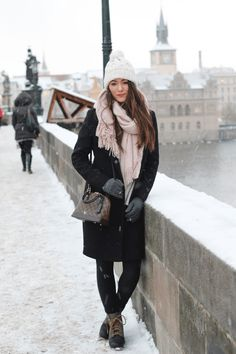 Snowy Prague More