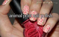 <3 animal print