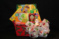 Kids Art Activity Gift Basket: Unique handcrafted gift baskets supplied with a wide variety of quality products at valued prices by TnT Gift Baskets. Website Coming Soon! Please check back.