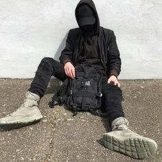 Anyone know how to lace up the Nike SFB boots like this? Urban Fashion, Boy Fashion, Mens Fashion, Nike Sfb Boots, Street Outfit, Street Wear, Urbane Mode, Outfits Hombre, Skate Wear