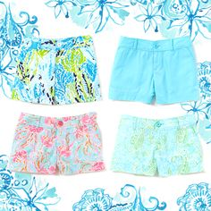 I love me some Lilly shorts!