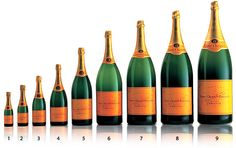 Veuve Cliquot in all shapes and sizes...
