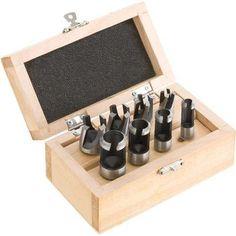 8 brocas hacer tarugos insertos carpintero carpintería d2022