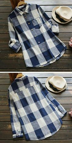I'm tearing up the country with a shirt. Product Code: Details: Plaid pattern Button down Pocket design Regular wash Refere Fall Outfits, Casual Outfits, Cute Outfits, Fashion Outfits, Womens Fashion, Plaid Pattern, Autumn Winter Fashion, Casual Shirts, What To Wear