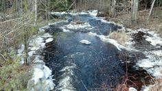 Frozen stream 2013/feb