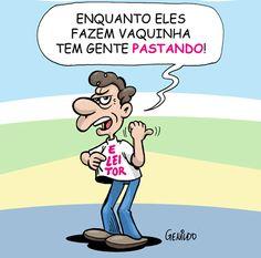 Vaquinhas de presépio, assim somos nós, pobres brasileiros!