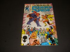 SQUADRON SUPREME #2 LIMITED SERIES (1985) start the bid at $1.50 buy it now for $3.00+ ship!!!