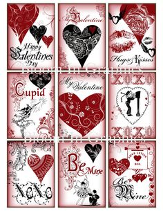 ATC Valentine graphics. $3.95, via Etsy.