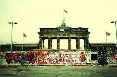The Berlin Wall - I rejoiced when this wall was breached in 1989 and brother could freely join brother.