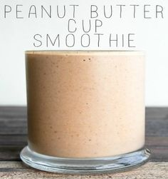 Peanut Butter Cup Smoothie 6 Smartpoints - weight watchers recipes