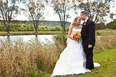 This point offers beautiful views of the trees and pond- which is a perfect backdrop to your small wedding! Photo Credit: Martin Page