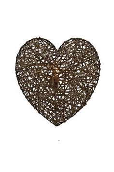 Buy Bamboo Heart Wall Light from the Next UK online shop