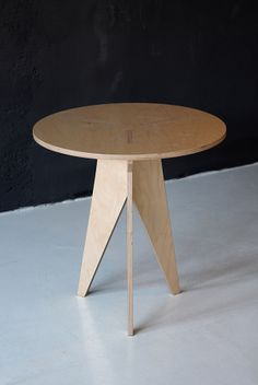 Furniture P01 - Plywood by Hristo Stankushev, via Behance
