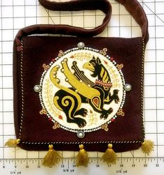 Embroidered Bag Workshop (links to videos and kits for sale)