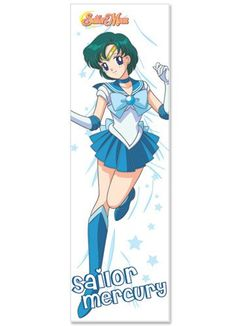 Sailor Moon Mercury Body Pillow