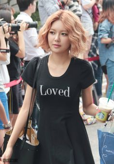 Sooyoung pulls off any hairstyle
