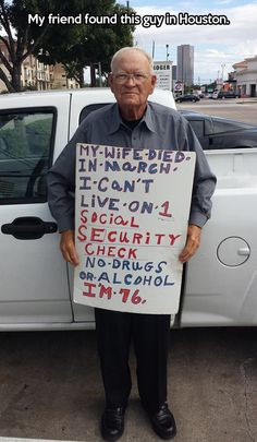 Social Security in Houston… This breaks my heart!!!