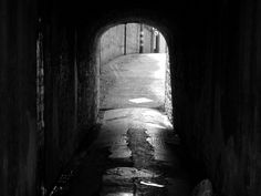 """""""And if there's no light at the end of the tunnel, you're looking the wrong way."""""""