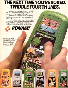 vgjunk:      Konami hand-held games