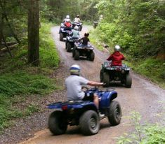 You'll have the time of your life with Bluff Mountain Adventures.
