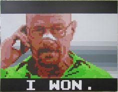 I Won. by pixelartpaintings on Etsy, $250.00