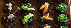 Duncan Hines Recipe - Garden Party Cupcakes