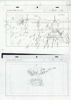 劇)紅の豚 原画コピー