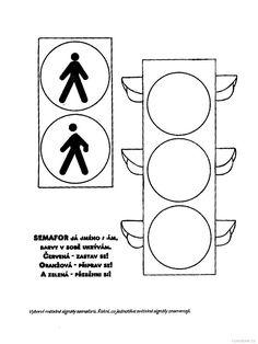 pracovní list semafor