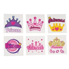 Princess Tattoos are great party favors!