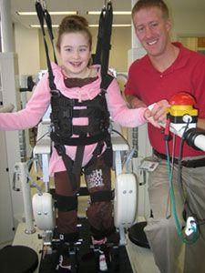 Pediat Lokomat Walking Therapy - Rehabilitation Institute of Chicago