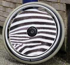 Animal Wheelchair Wheel Covers from SpokeGuards. Choose from our funky animal designs to customise your wheelchair wheels! Polar Bears, Wheel Cover, Chair Covers, Animal Design, Zebra Print, Giraffe, Range, Horses, Animals