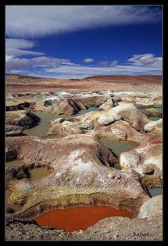 Geysers of Sol De Mañana - Bolivia