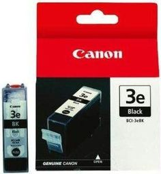 Canon Usa Bci-3ebk - Ink Tank - Black - 420 Pages , 5% Coverage - For Ip5000,ip4000r,ip400