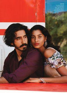 Dev Patel & Imaan Hammam