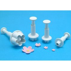 Plunger Cutter Set 4 Pieces-Flower Blossom