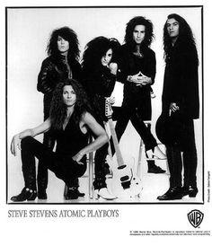 Atomic Playboys Steve Stevens, Billy Idol, Glam Metal, Rockn Roll, We Are Family, Best Albums, Cool Guitar, Glam Rock, Hard Rock