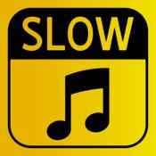 Slow Tunes by By Brian Stokes is a simple music player that lets you slow down your favorite songs without changing the pitch. You can add songs from your music library and play them at 3 speeds: normal, slower and slowest. Perfect for the child who loves to sing, but, might want to sing at their own pace.