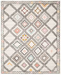 Kenya Motif Natural/Multi Area Rug