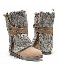 Love this Taupe Nikki Boot - Women on #zulily! #zulilyfinds