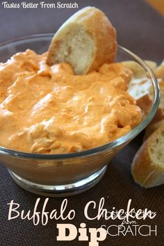 Share it! For me, this time of year is all about yummy appetizers! We just celebrated New Years and we've got the Superbowl and some other big sports games coming up and all of these events are made even more fun when accompanied by some fun appetizers! I LOVE this buffalo chicken dip! It's tangy... Read More »