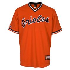 Ikes Baseball Baltimore Orioles Cooperstown Replica MLB Jersey this is the best!